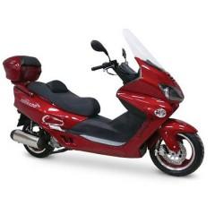 Скутеры 250 куб. см