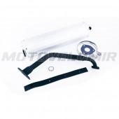 Глушитель 4T GY6 125-150 (+колено, прокладки)